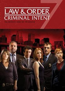 Law Order Criminal Intent   The Seventh Year DVD, 2012, 5 Disc Set