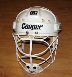 VINTAGE COOPER SK2000 GOALIE HELMET with VTG HM40 FACE CAGE