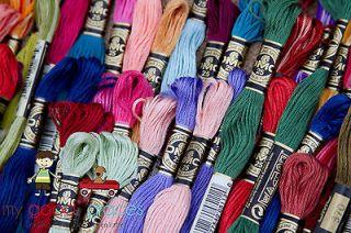 Lot of 90 DMC embroidery floss thread skein Friendship Bracelet