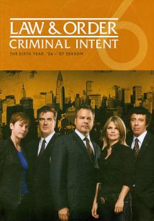Law Order Criminal Intent   The Sixth Year DVD, 2011, 5 Disc Set