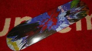 SUPREME DAMIEN HIRST BOX LOGO SPIN SKATEBOARD DECK RED DOT CHEAP SPOT