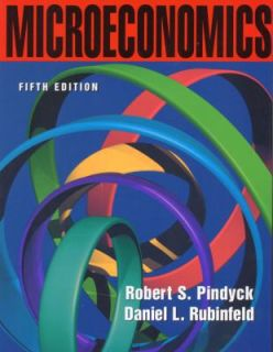 Microeconomics by Daniel L. Rubinfeld and Robert S. Pindyck 2000
