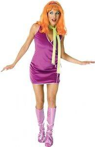 Adult Scooby Doo Daphne Halloween Costume Dress Up