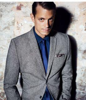 Tweed Blazer Jacket Size 34 R & 36 R NWT SOLD OUT Classy Dapper Grey
