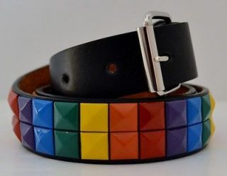 New Boys Girls Kids Toddlers Removable Buckle Cool Rainbow Studded
