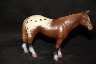 Schleich Horses APPALOOSA STALLION Horse RETIRED 13271