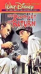 No Deposit, No Return VHS, 1998, Don Knotts Collection