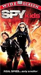 Spy Kids VHS, 2001, Widescreen