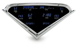DAKOTA DIGITAL DASH 55 56 57 58 59 CHEVY PICKUP TRUCK GAUGE CLUSTER