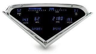 DAKOTA DIGITAL DASH 55 56 57 58 59 CHEVY PICKUP TRUCK GAUGE CLUSTER