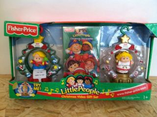 Price Little People CHRISTMAS ORNAMENT Dvd Angel Musical Video Gift