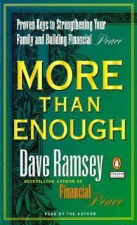 and Financial Peace by Dave Ramsey 1999, Cassette, Abridged