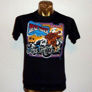 HARLEY DAVIDSON BIKE WEEK EAGLE 3d DAYTONA BEACH FLORIDA t shirt M