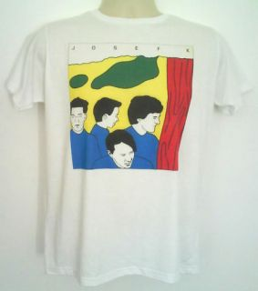 Josef k t shirt post punk c86 postcard records