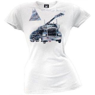 Def Leppard   Thru The Night Juniors T Shirt