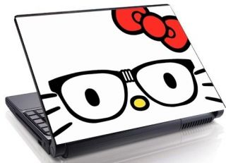 Nerd Face Laptop Skin decal 15.4 17 19 Mini Netbook Macbook 18
