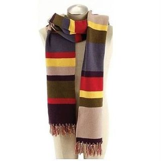 DR WHO New Official 4th Doctor 12 Stripe SCARF Costume Prop REPLICA