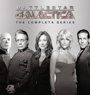 Battlestar Galactica   Complete Series Boxset, Seasons 1 4 (DVD,2010