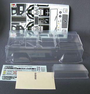 Axial SCX10 Dingo Rock Crawler Body w/ Masks & Stickers