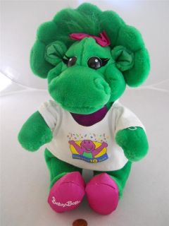 Barneys Baby Bop Celebrating 10 Years 10 Year Anniversary 14 Plush