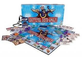 Grateful Dead Monopoly Opoly Game BRAND NEW SEALED GAME