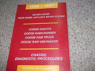 Dodge Ram repair manual in Dodge