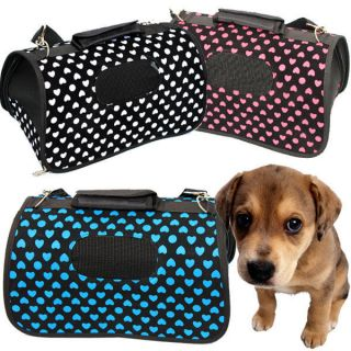 Portable Dog Totes Crate Carrier House Kennel Pet Travel Bag Doghouse