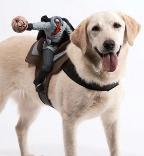 Dog Harness Headless Horseman Pet Halloween Costume