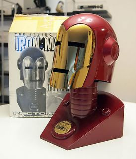 Iron Man Helmet and Stand   Factory X   Full Size 1:1 Scale