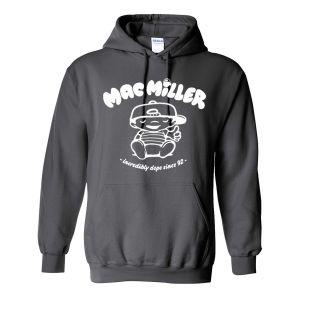 Mac Miller Hooded Sweatshirt most dope rap hip hop knock khalifa