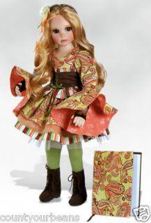 JOURNEY Porcelain Doll & Journal DOTY Winner by Karen Alderson NEW