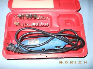Dremel Rotary Tool sanding and cutting buffing set plus parts pieces