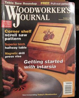 JOURNAL MAGAZINE OCTOBER,1998 MAGNETIC DRILL PRESS VISE ENTRY TABLE