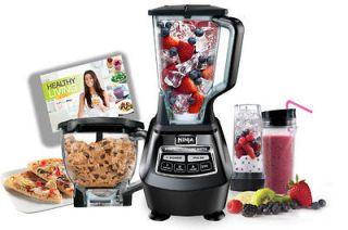 Ninja Mega Kitchen System 1500 1500 Watt 2 Horse Power Blender Food Bed Mattress Sale