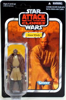 Star Wars MACE WINDU Figure VC35 Vintage Collection 2011 AOTC NEW