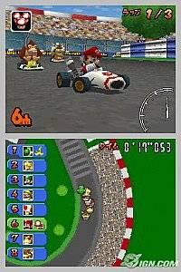 Mario Kart DS Nintendo DS, 2005