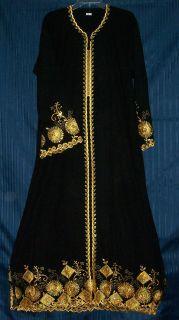 Abaya Dubai Hijab Jalabiya Sheela 1097 Black Abayas Tunic Dupatta
