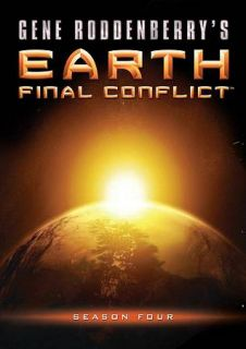 Earth Final Conflict Season 4 DVD, 2010, 6 Disc Set, Canadian