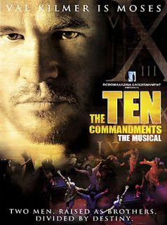 Ten Commandments The Musical DVD, 2006