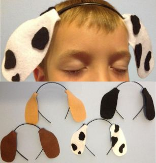 Count Puppy Dog Ears Headbands Birthday Party Favors or Halloween