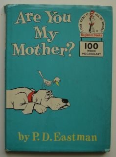 You My Mother?, Vintage 1960 Hardcover w/ Dust Jacket, P. D. Eastman