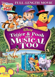 My Friends Tigger Pooh Tigger, Pooh and a Musical Too DVD, 2009