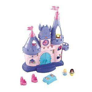 Fisher Price Little People Disney Princess Songs Palace  BRAND NEW