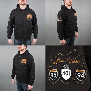 Pearl Jam Eddie Vedder Crash Roadie Hoodie Hooded Sweatshirt XL