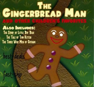 The Gingerbread Man Childrens Audio Book CD New