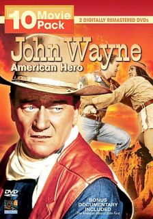 John Wayne   American Hero 10 Movie Pack DVD, 2007, 2 Disc Set