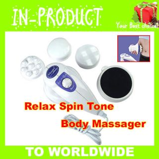 Relax Spin Tone Full Body Massager Relaxing Slimming Toning Fat