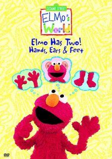 Elmos World   Elmo Has Two Hands, Ears Feet DVD, 2004