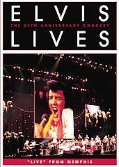 Elvis Lives The 25th Anniversary Concert DVD, 2007, Keep Case