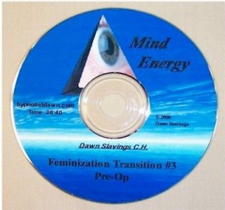 Transition 3 Pre opTransg​ender Hypnosis CD  M2F, TG, Helps